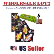 (LOT OF 24X) Electric Shock Chewing Gum Funny Prank Trick Gag Novelty Toy - $44.50