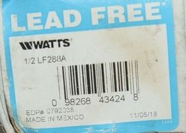 Watts Lead Free 1/2 Inch LF288A  Anti Siphon Vacuum Breaker image 5