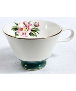 Homer Laughlin Century Service Empire Green Semi Vit Coffee Cup Alliance Ohio - $9.69
