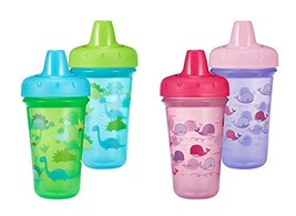 The First Years Stackable Hard Spout Cup, 2Pk, Colors May Vary, Pink - $19.55