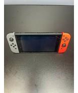 Nintendo Switch Bundle w/ Neon Blue & Red Joy Cons & Mario Kart 8 — NEW IN BOX - $241.87