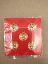 Royal Thai Air Force studs Small military Metal Badge Lot, Original Item - $14.03