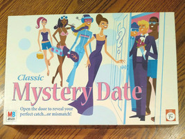Classic Mystery Date 2005 Board Game Milton Bradley Dating #42882 MB - $21.99