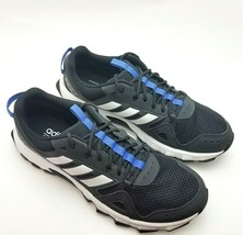 Adidas Rockadia Cloudfoam Mens 11 D Trail Running Shoes Black and White ... - $48.00