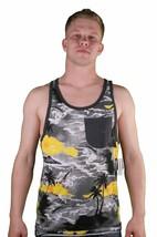 Von Zipper Jarhead Tricot Poche Hawaii Débardeur Muscle Plage Chemise