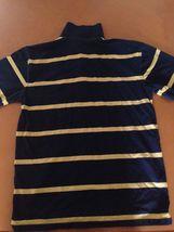 Gap Kids GapKids Blue Yellow Striped Polo Shirt Shirts Size XXL (14-16) image 4