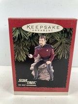 Veg Hallmark Star Trek TNG Commander William T. Riker Keepsake Ornament ... - $11.83