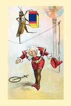 Tight-rope walker by Frolie - Art Print - £15.70 GBP+