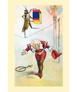 Tight-rope walker by Frolie - Art Print - £15.28 GBP+
