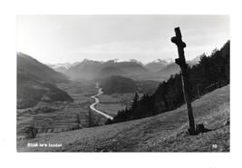 RPPC Austria Tyrolean Alps Wayside Cross Crucifix Shrine K Somweber Post... - $6.69