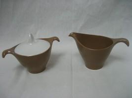 Set of 2 Lenox Ware Cream and Sugar Bowls 1960'... - $12.82
