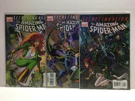 THE AMAZING SPIDER-MAN SECRET INVASION #1-3 (NM) Mini Series Set - Marve... - $7.55