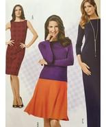 Burda Sewing Pattern 6988 Ladies Misses Dress Size 8-20 New - $14.58