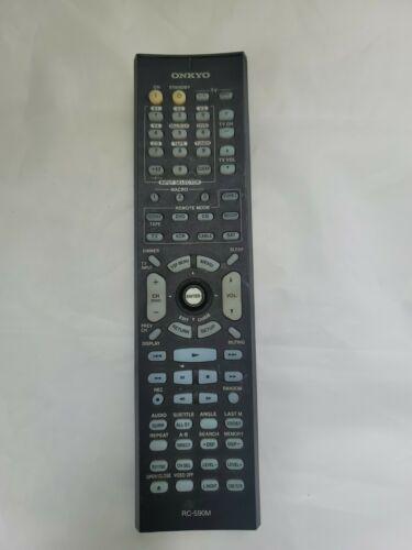 ONKYO RC-590M REMOTE TX-SR8360 TX-SR8260 RC-646S AV Receiver GENUINE - $27.12