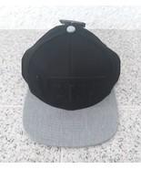 Vans Black Cap Grey Casual Hat 100% Cotton Adults One Size  Flat Brim 6 ... - $24.23