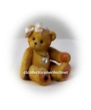 Cherished Teddies Little Sparkles April Bear  2003 NIB - $15.79