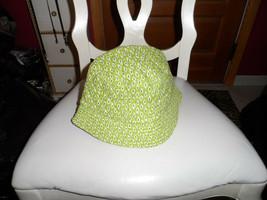 Vera Bradley sun hat in retired green pattern - $19.50
