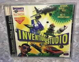 Invention Studio Windows CD-Rom Science Software - $7.51
