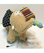 Dolce Activity Elephant Baby Toy 17″ Infant Sensory Plush Stuffed Animal - $12.60