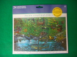 Pacific Coast Rain Forest Mint Stamp Sheet NH VF Original Package - $5.30