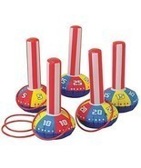 Happy Deals~ Inflatable Ring Toss Carnival Game Set - Fun Indoor or Outd... - $36.00