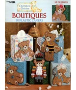 Cherished Teddies Boutiques in Plastic 10 Designs Leaflet 1832  - $9.95