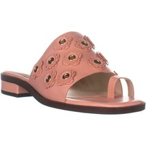Cole Haan Carly Floral Sandals, Coral Almond, 8 US - $49.91