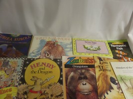 LOT OF CHILDRENS BOOKS PB/HC 7 EGGS,WILL'S MAMMOTH,SUBIRA SUBIRA,FANTAST... - $23.20