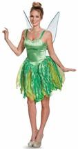Tinker Bell Prestige Disney Fairy Peter Pan Fancy Dress Halloween Adult ... - $93.48