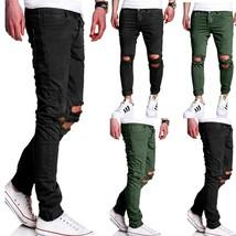 Mens Casual Jogger Sportwear Baggy Jeans Pants Slacks Trousers Sweatpants - $35.70