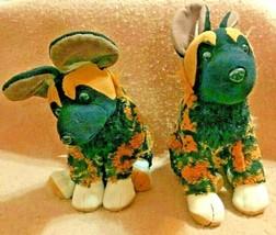 K&M International Wild REPUBLIC-- Plush Pair Hyenas / Dingoes Stuffed Animals - $29.95