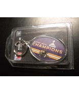 WinCraft Sports Key Chain 2008 Superbowl 47 Baltimore Ravens Acrylic Sealed - $7.99