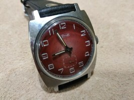 ZIM  mens wrist watch  vintage 15 Jewels 1960s Original USSR  - $48.00