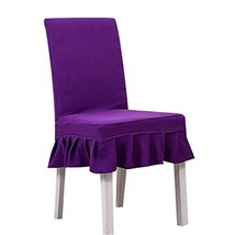Koala Superstore Seat Cloth 2 Pcs Fit Stretch Elastic Short Chair Covers... - $19.17
