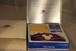 New Disney Cruise Line Castaway Club Travel Game Set w/ Collectible Tin ... - $36.10