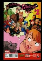 The Unbeatable Squirrel Girl #1 2015- Marvel comics- High Grade Unread NM - $12.61