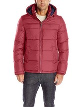 Tommy Hilfiger Men's Insulated Midlength Quilted Puffer Jacket W/ Fixed ... - $139.99