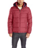Tommy Hilfiger Men's Insulated Midlength Quilted Puffer Jacket W/ Fixed ... - $139.99+