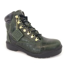 "Timberland Men's Field 6"" inch Waterproof Crocodylian Green Boots A1PVH - €138,34 EUR"