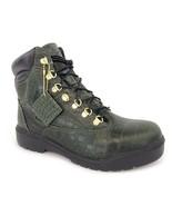 """Timberland Men's Field 6"""" inch Waterproof Crocodylian Green Boots A1PVH - $149.99"""