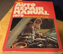 1978 Chilton's Auto Repair Manual 6593 1971-78 American Cars - $12.19
