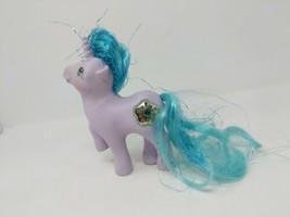 My Little Pony G1 Generation 1 Princess Sparkle Unicorn Purple Blue 1987... - $14.84