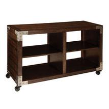 Standard Furniture Sullivan Console Table on Casters in Brown Oak - $313.62