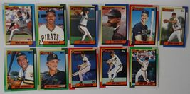 1990 Topps Pittsburgh Pirates Team Set of 29 Baseball Cards image 5