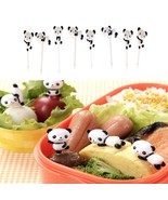 Fruit Picks Kawaii Cartoon Animal Panda Bear Lunches Party Decoration Fo... - $6.91