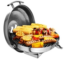Kuuma Gas Kettle Grill - 175 Surface - Stainless Steel - £176.57 GBP