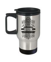 Birthday Girl Travel Mug 40th Birthday Travel Mug Queen Travel Mug - $21.99