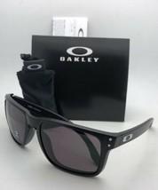 Oakley Sunglasses Holbrook Xl OO9417-0159 Matte Black Frames w/ Warm Grey Lenses - $124.95