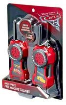 Disney Cars 3 Walkie Talkies Toy Lightning McQueen & Cruz Ramirez Long R... - $29.60