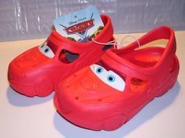 Toddler Boy's Red Clogs - Disney Pixar Cars - Size S(5/6), M(7/8) or L(9... - $3.74